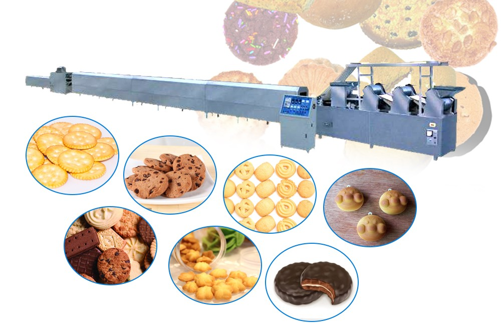 Automatic biscuit making machine  Design