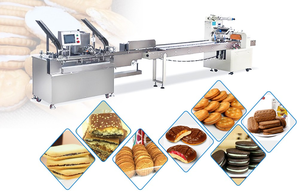 Biscuit Sandwiching Machine For Sale