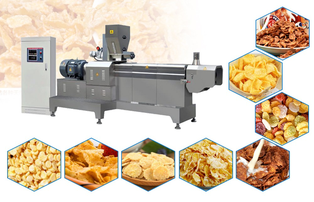 corn flakes making machine manufacturer