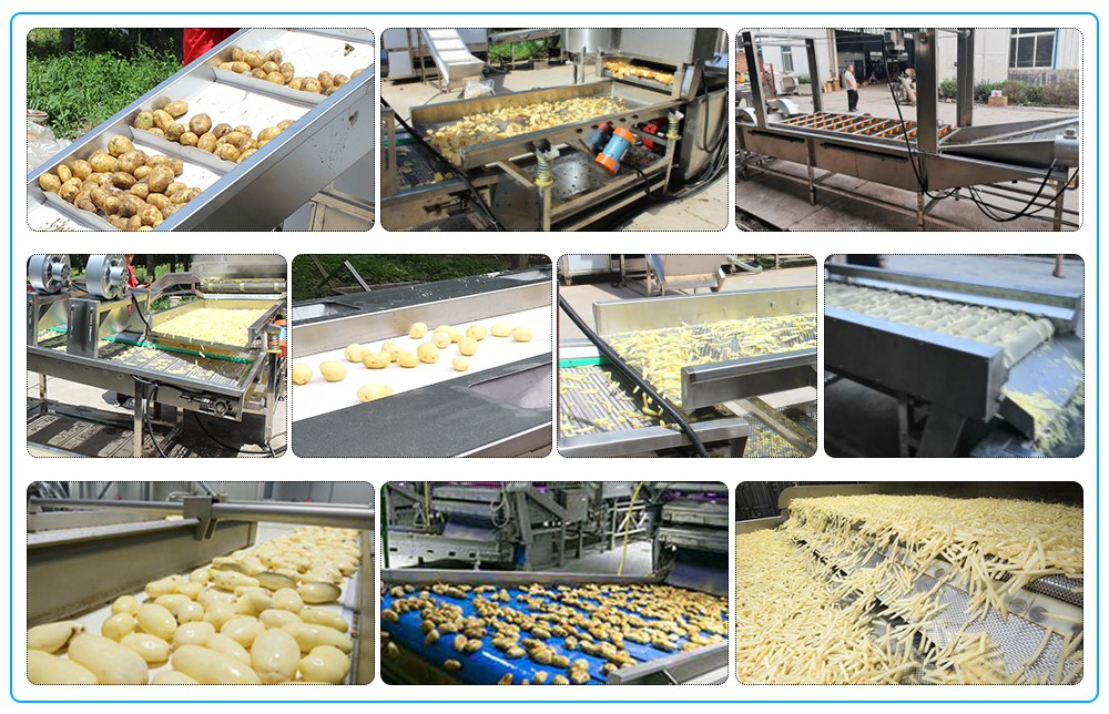 fully automatic potato chips making machine for sale