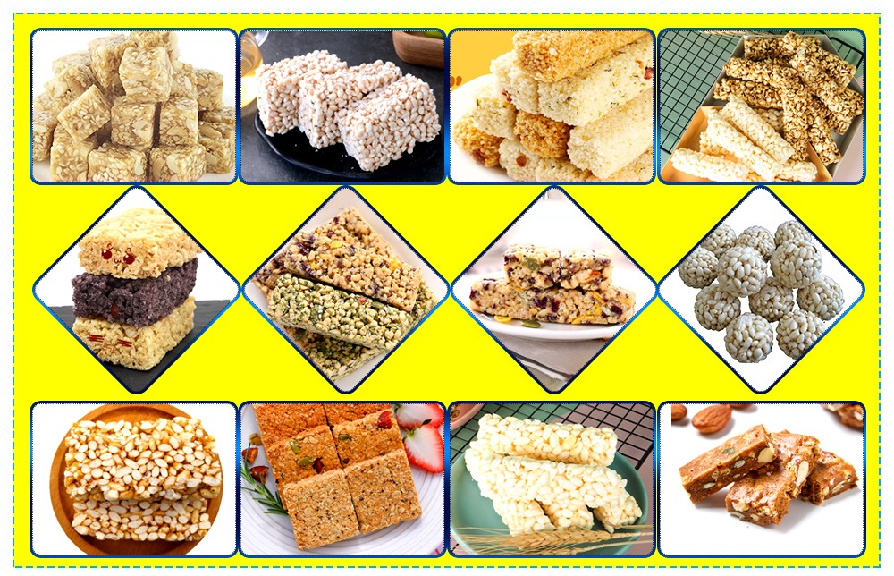 Protein Bar Manufacturing Process  Alpication