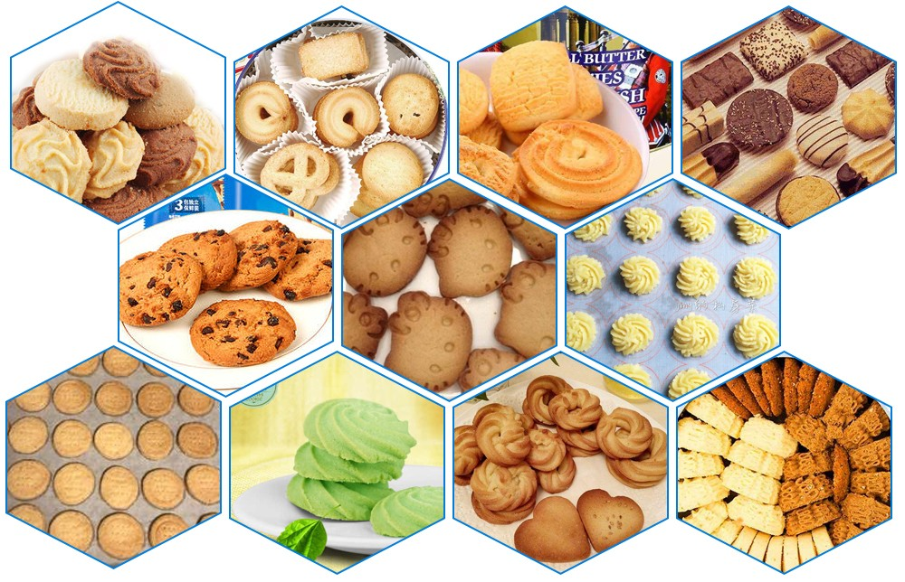 Cookies making machine processing