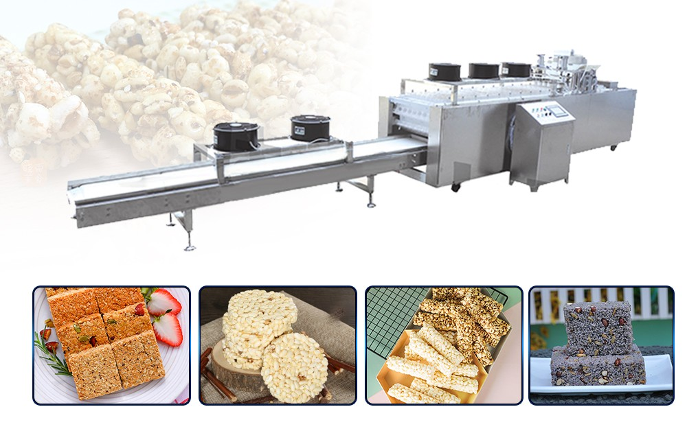 Cereal Bar Production Line design