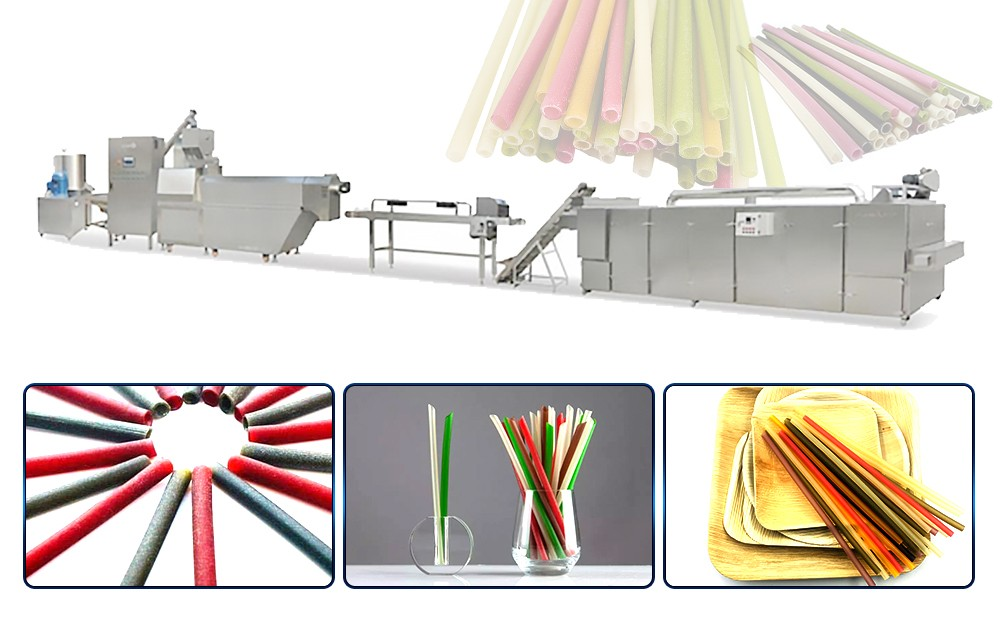 Corn Starch Straw Making Machine